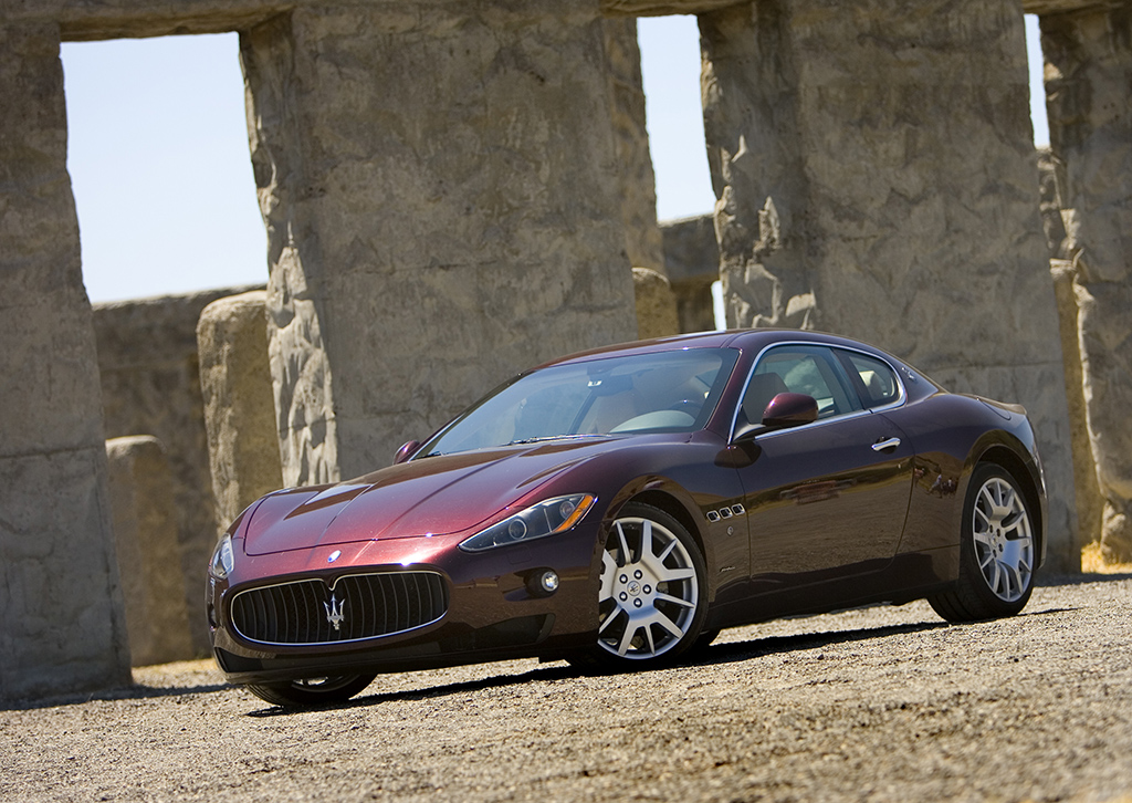 Maserati at Stonehenge