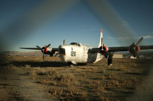 The Greybull, Wyoming airport is a graveyard of antique aircraft, rusting away.
