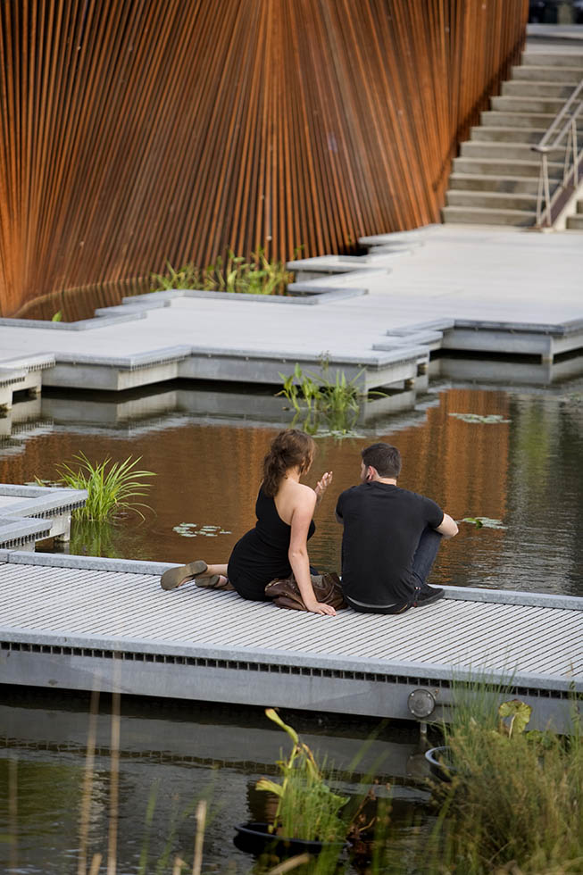Tanner Springs couple