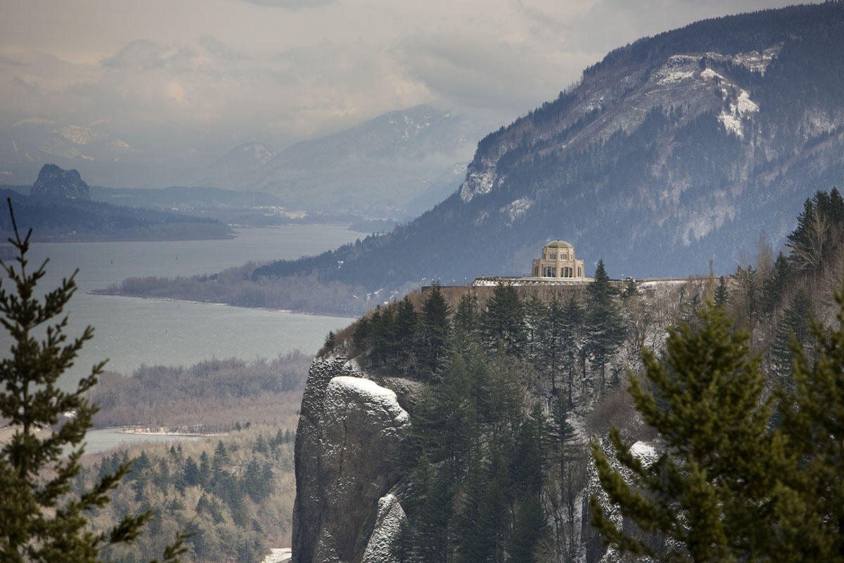 Winter in the Columbia Gorge