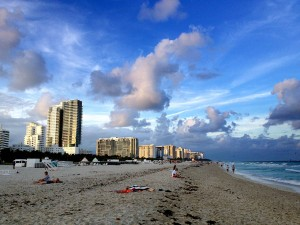South Beach in Miami Beach, Florida.  A great place to visit, but I sure wouldn't want to live there.